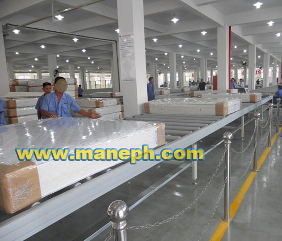 MATTRESS ROLLER CONVEYOR