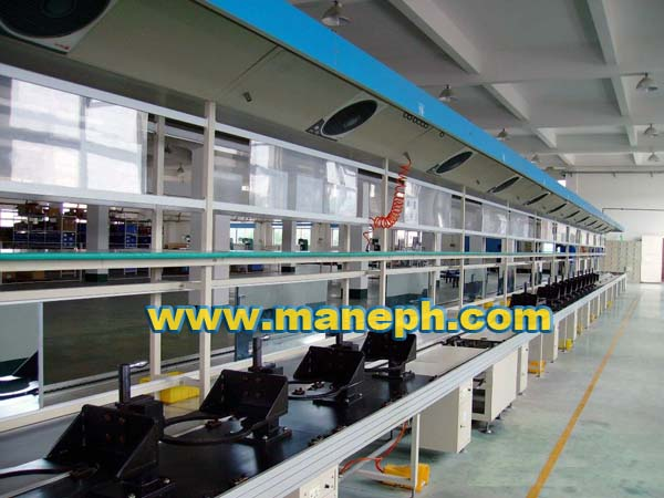 MOTORCYCLE ENGINE PRODUCTION LINE