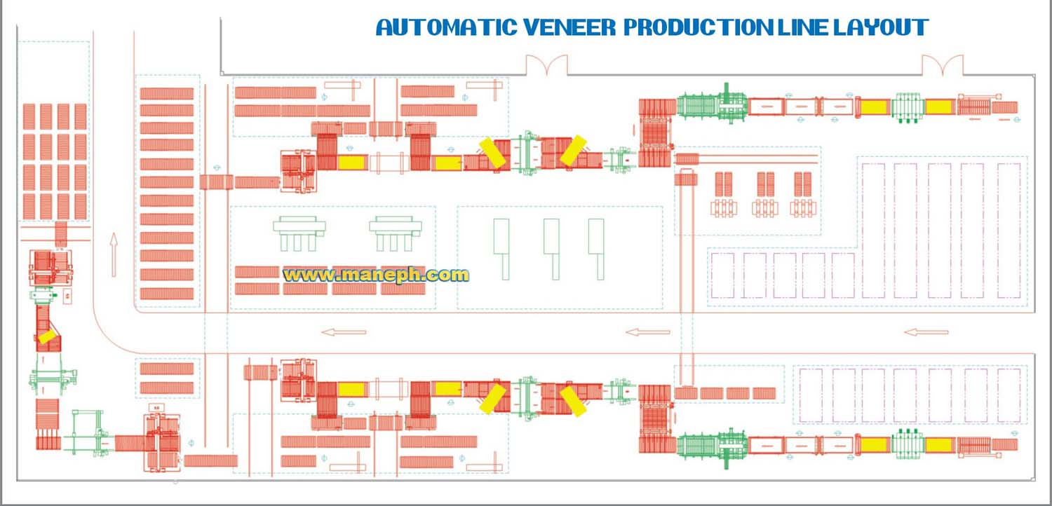AUTOMATIC VENEER PRODUCTION LINE
