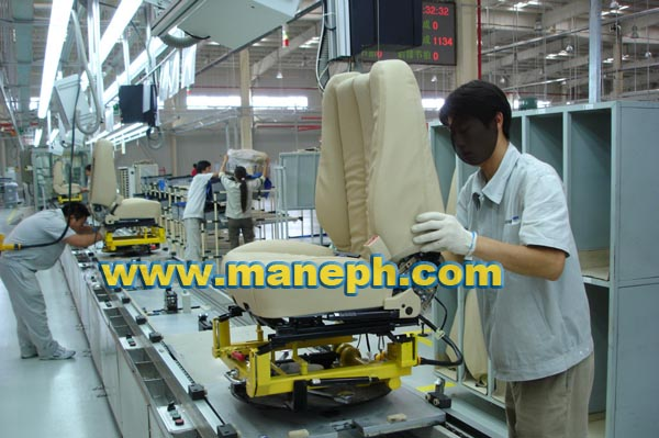 CAR SEATING PRODUCTION LINE