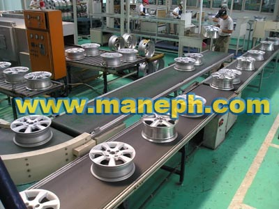 WHEEL BELT CONVEYOR