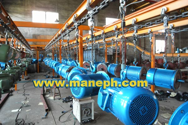 MOTOR PAINTING LINE