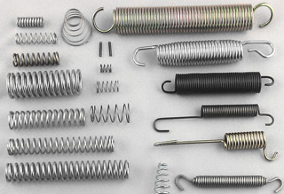 COMPRESSION SPRING, EXTENSION SPRING, TORSION SPRING